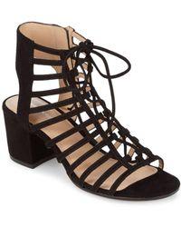 Pour La Victoire - Amabelle Leather Sandals - Lyst