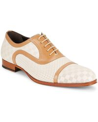 Mezlan - Two-tone Leather Shoes - Lyst