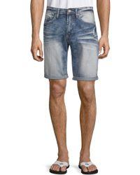 Buffalo David Bitton - Evan Basic Denim Shorts - Lyst