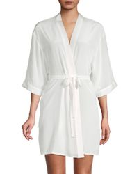 Mimi Holliday by Damaris - Belted Wrap Robe - Lyst