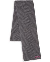 Class Roberto Cavalli - Wool Knit Scarf - Lyst
