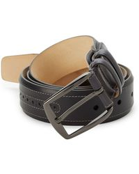 Mezlan - Sicalf Leather Belt - Lyst