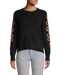 Skull Cashmere - Serpent-sleeve Cashmere Sweater - Lyst