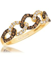 Le Vian - Chocolatier Diamond & 14k Yellow Gold Ring - Lyst