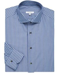 Boglioli - Regular-fit Striped Cotton Dress Shirt - Lyst