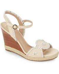 Jack Rogers - Clare Wedge Sandals - Lyst