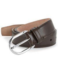 Bally - Greywall Leather Belt - Lyst