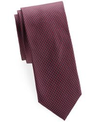 Brioni - Embroidered Silk Tie - Lyst