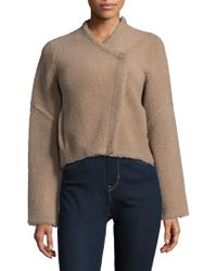 VEDA - Dyed Shearling Jacket - Lyst