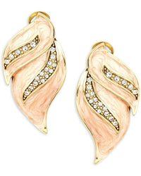Heidi Daus - Crystal Drop Earrings - Lyst