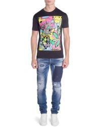 DSquared² - Pineapple Graphic Tee - Lyst
