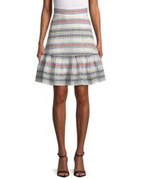 Plenty by Tracy Reese - Tie Flounced Skirt - Lyst