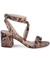 3dec6c525 Lyst - Sam Edelman Trina Leather Sandals in White