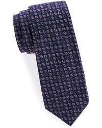 Saks Fifth Avenue - Paisley Silk Tie - Lyst