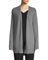 360cashmere - Printed Open-front Cashmere Cardigan - Lyst