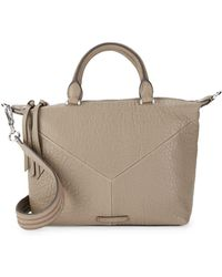 bdddc02607 Vince Camuto - Holly Leather Satchel - Lyst