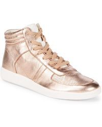 Dolce Vita - Nate Leather Sneakers - Lyst