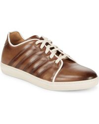 Mezlan - Leather Low-top Trainers - Lyst