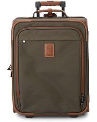 Longchamp - Two-wheel Leather Luggage - Lyst