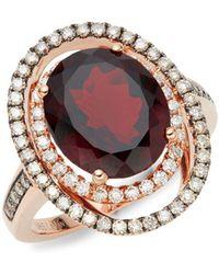Le Vian - Exotics 14k Rose Gold Ring & Garnet Ring - Lyst