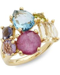 Ippolita - Rock Candy Multi-stone & 18k Gold Cocktail Ring - Lyst