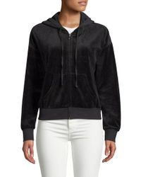Juicy Couture - Graphic Velour Jacket - Lyst