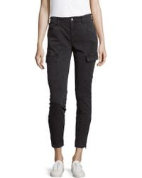 J Brand - Mid-rise Houlihan Cargo Pants - Lyst
