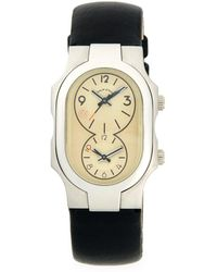 Philip Stein - Signature Stainless Steel & Leather-strap Watch - Lyst