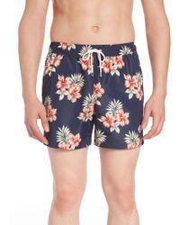 6f78ff861c J.Lindeberg - Banks Pattern Swim Shorts - Lyst
