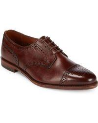 Allen Edmonds - 6th Avenue Leather Lace-up Shoes - Lyst
