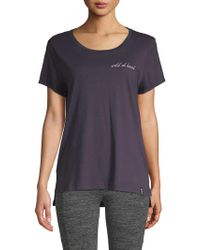 Marc New York - Embroidery T-shirt - Lyst