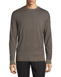 Thomas Dean - Crewneck Wool Jumper - Lyst