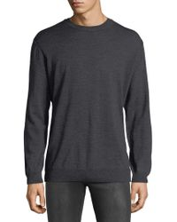 Bugatchi - Merino Wool Elbow-patch Jumper - Lyst