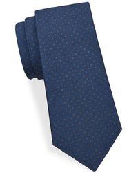 Saks Fifth Avenue - Simple Dot Silk Tie - Lyst