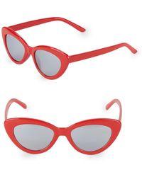 Fantaseyes - 48mm Butterfly Sunglasses - Lyst