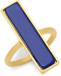 Freida Rothman - Linear Gemstone Ring - Lyst