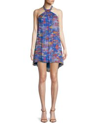 Robert Graham - Arabella Printed Silk Dress - Lyst