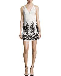 Dress the Population - Codi Zippered Dress - Lyst