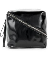 Proenza Schouler - Cube Leather Clutch - Lyst