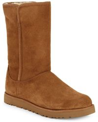 UGG - Michelle UGGpure-Lined Suede Boots - Lyst