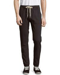 Sol Angeles - Twill Drawstring Trousers - Lyst