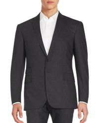 Ralph Lauren Black Label - Plaid Wool Jacket - Lyst