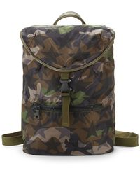 Valentino - Star Camo Backpack - Lyst