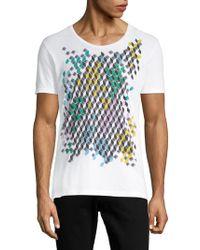 Antony Morato - Multicolored Graphic Cotton Tee - Lyst