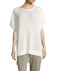 French Connection | Fishermens Solid Ribbed-hem Top | Lyst