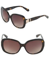 Balmain - 57mm Oversized Sunglasses - Lyst