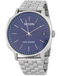 Nixon - Regent Ii Stainless Steel Watch - Lyst