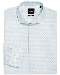 Strellson - Adrian Printed Slim-fit Dress Shirt - Lyst