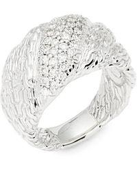 John Hardy - Diamond Chain Ring - Lyst