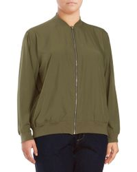Vince Camuto - Soft Bomber Jacket - Lyst
